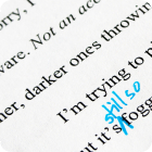 Editorial Services: Copy-editing and Proofreading